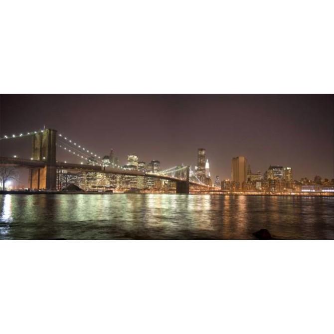 30284684 / Cuadro Puente de Brooklyn, Nueva York, NY noche