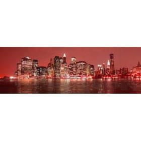 26215762-R / Cuadro Nueva York rojo 04