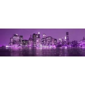 26215762-L / Cuadro Nueva York lila 04