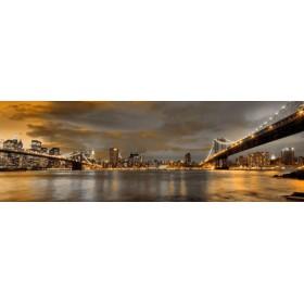 10111095-N / Cuadro Puentes de Brooklyn y New York