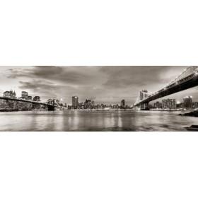 10111095-G / Cuadro Puentes de Brooklyn y Nueva York