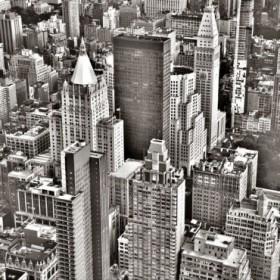 Cuadro Nueva York b/n
