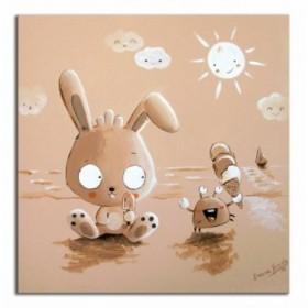 DVC - Cuadro Conejo y Cangrejo