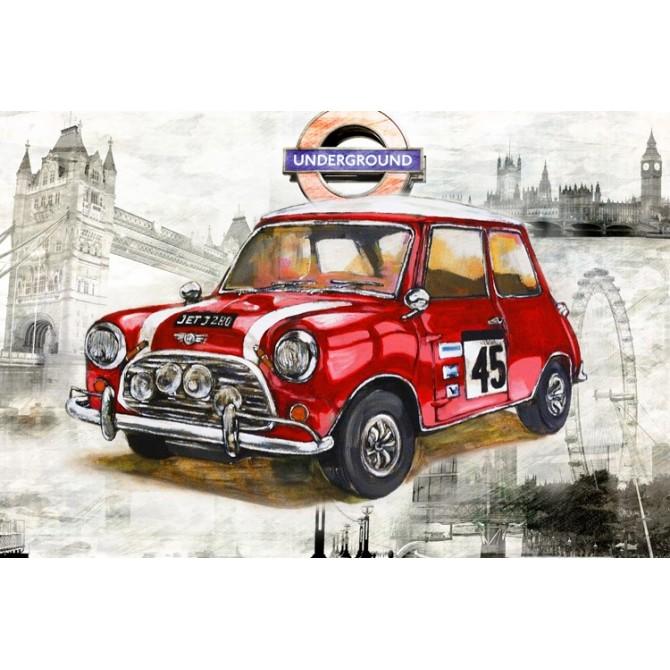 Cuadro London Car