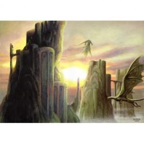 Cuadro Dragon's Land