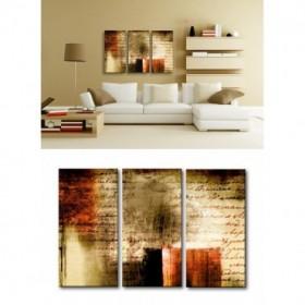 TE-022 / Cuadro Pergamino abstracto