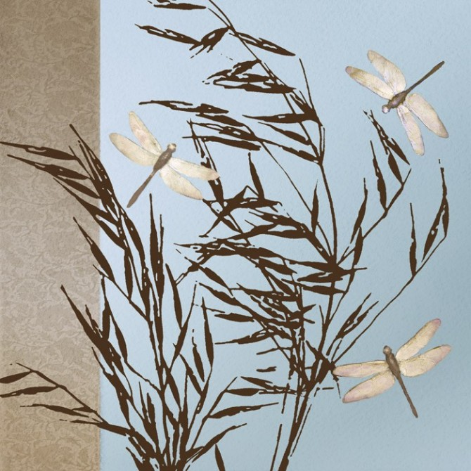 12783 / Cuadro Dragonflies