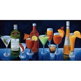 12141 / Cuadro Cocktail Hour