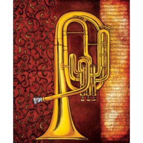 12057 / Cuadro Tenor Horn