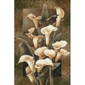 8278 / Cuadro Golden Calla Lilies