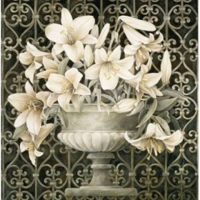 2781 / Cuadro Lilies in Urn