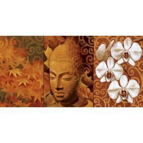 12474 / Cuadro Buddha Panel II
