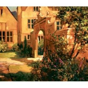 12120 / Cuadro Sunlit Courtyard