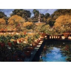 4090 / Cuadro Boboli Gardens- Florence