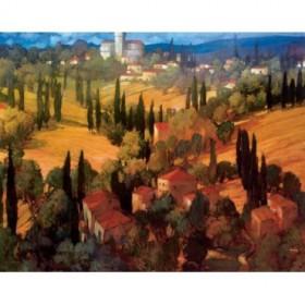 4003 / Cuadro Tuscan Castle