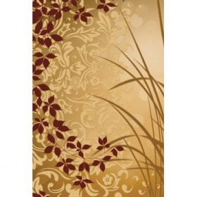 AEP108 / Cuadro Golden Flourish II