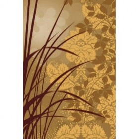 AEP107 / Cuadro Golden Flourish I