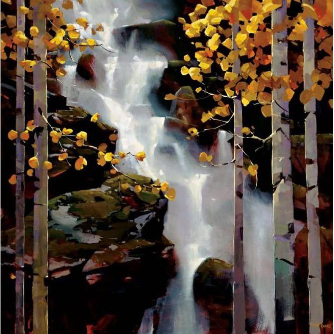 4113 / Cuadro Waterfall