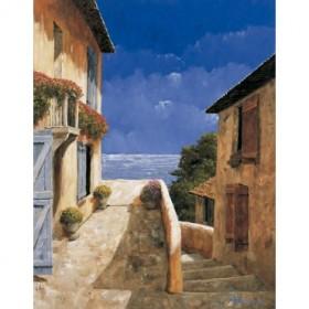 8245 / Cuadro Villa by the Sea