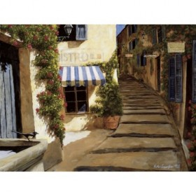 8063 / Cuadro Au Coeur du Village