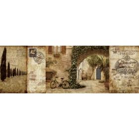 12905 / Cuadro Tuscan Courtyard