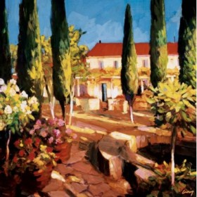 12189 / Cuadro Villa Garden