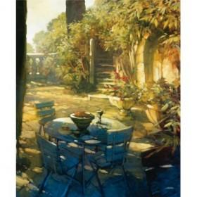 8082 / Cuadro Sunlit Terrace, Crillon le Brave
