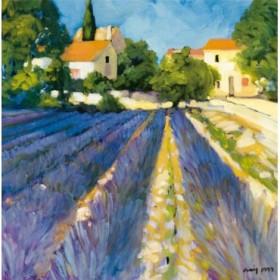 2317 / Cuadro Lavender Fields