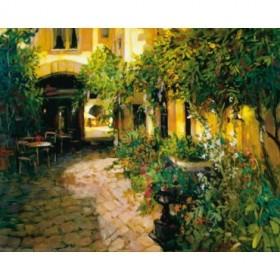2214 / Cuadro Courtyard Alsace