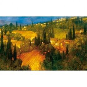 2209 / Cuadro Hillsideide - Tuscany