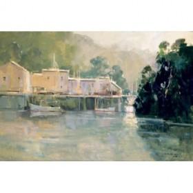 GTP 118 / Cuadro Morning Harbor, Mendocino