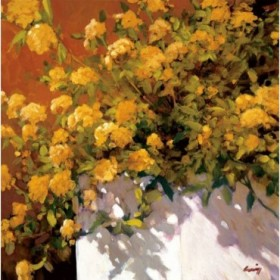 12062 / Cuadro Yellow Geraniums