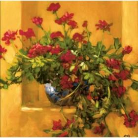 2301 / Cuadro Ivy Geraniums