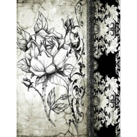 Cuadro Rose Vintage I-A