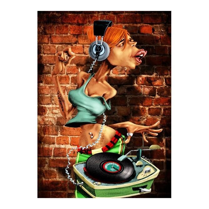 Cuadro DJ-Moon
