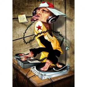 Cuadro DJ Love