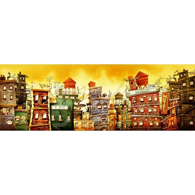 Cuadro The city 2