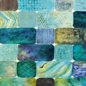 Arranging Sea Glass