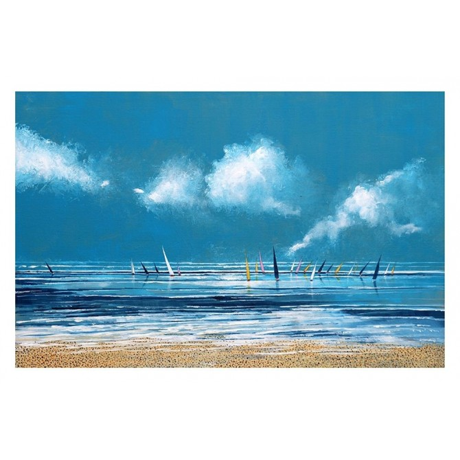 Sea and Boats I