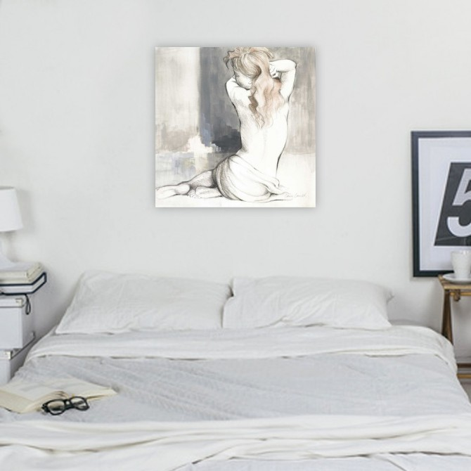 Sketched Waking Woman I