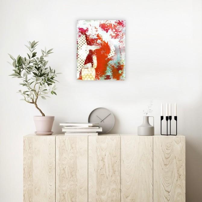 Orange Abstract