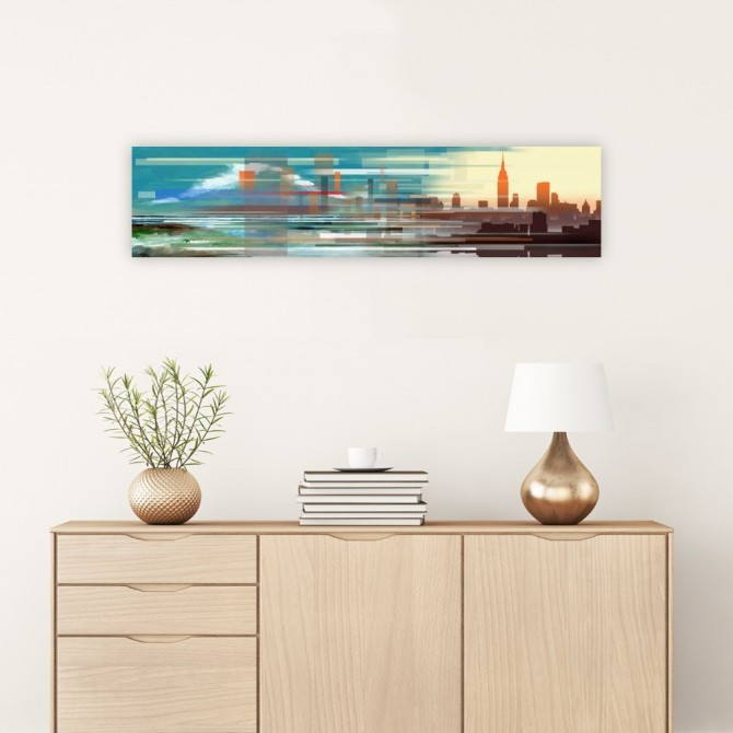Buildings and Seascape II