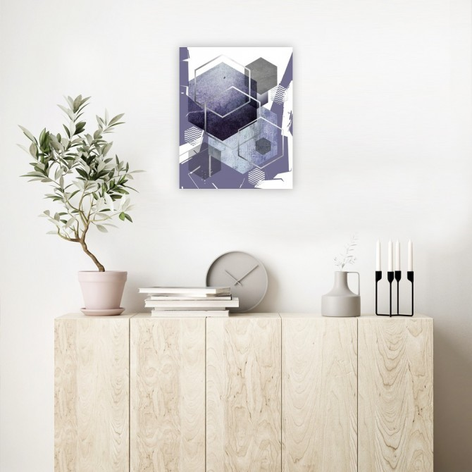 Abstract Geo Ultra Violet 1
