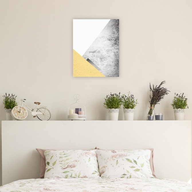 Yellow and Grey Mountains 3