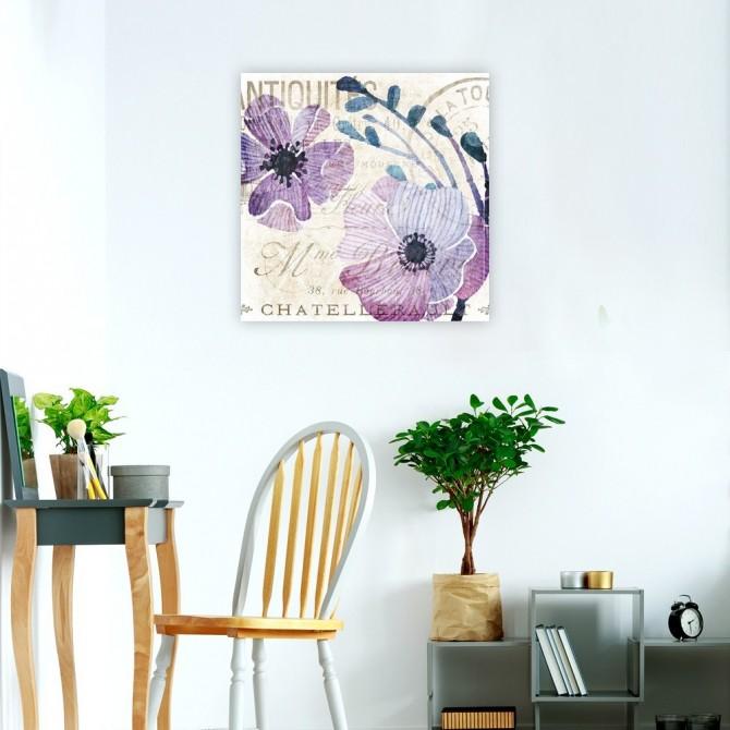 Soft Floral Purple 1