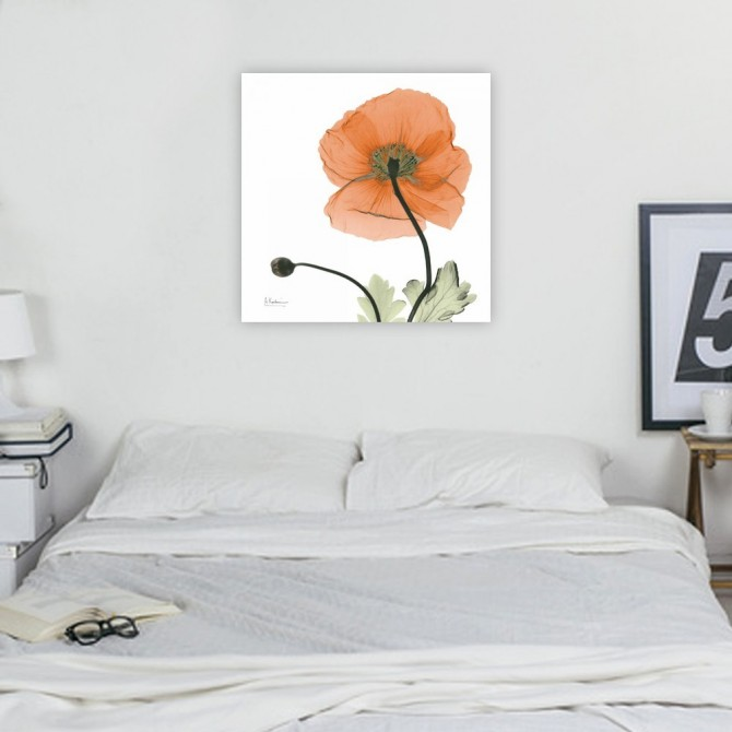 A Gift of Flowers in Orange