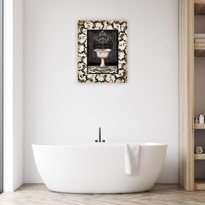 Midnight Bath with border II