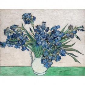 Irises, 1890 (White Vase)