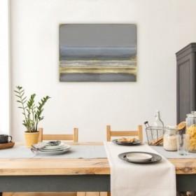 Cuadro Abstracto Grande - Golden Passage - 135x100 cm