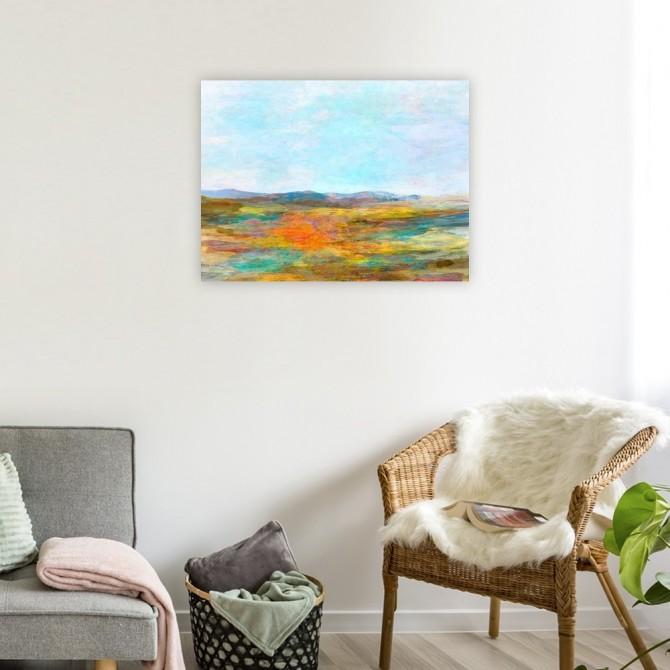 Cuadro Abstracto Grande - Visions I - 120X90 cm